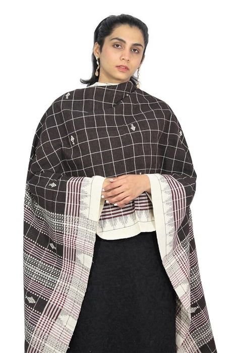 Kotpad Handloom Pure Cotton Dupatta 9D