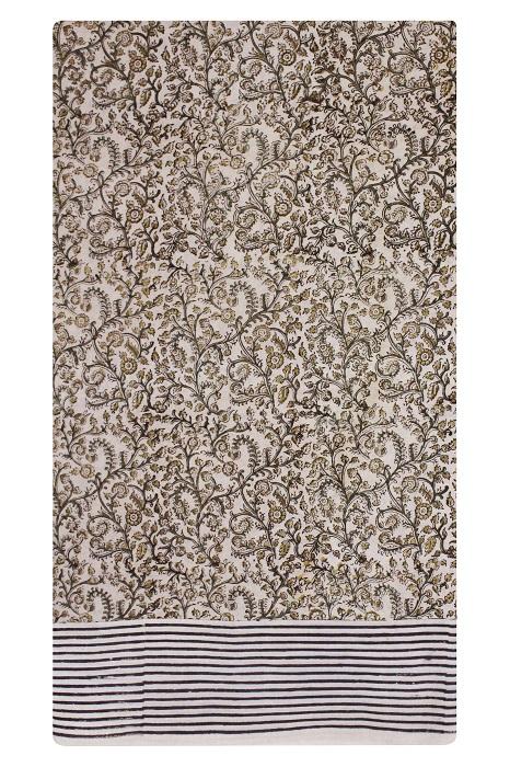 Pure Cotton Hand Printed Sarees 24e
