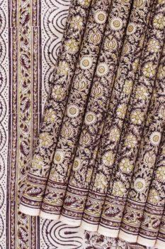 block print sarees 1