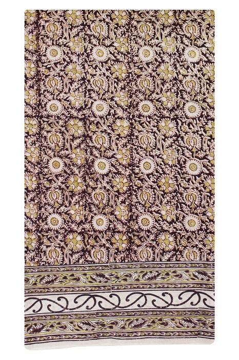 block print sarees 5