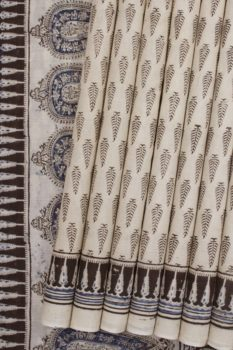 hand block printed Sarees online 18a