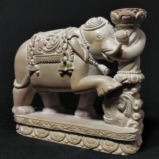 Stone Elephant Statue 1