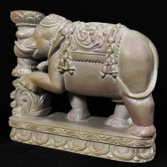 Stone Elephant Statue 2