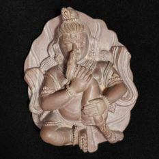Stone Krishna Statue 1