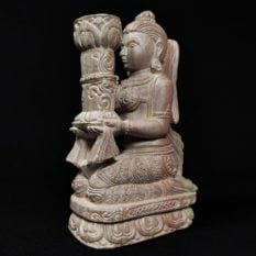 stone candle holder 1