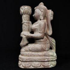 stone candle holder 2
