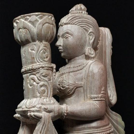 stone candle holder 4