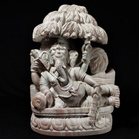 stone ganesh statue 1