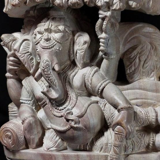 stone ganesh statue 4
