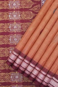 Bomkai Pure Cotton Saree Online 1