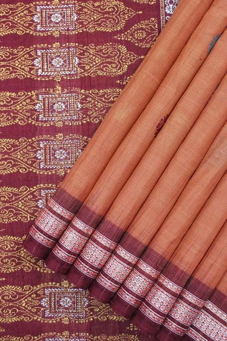 Bomkai Pure Cotton Saree Online 1