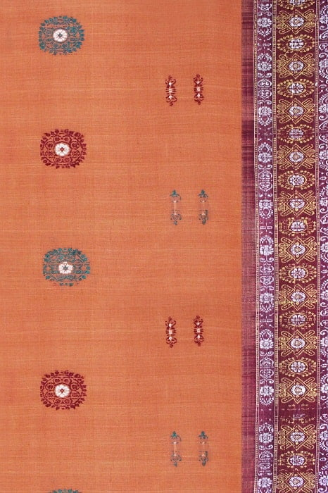 Bomkai Pure Cotton Saree Online 2