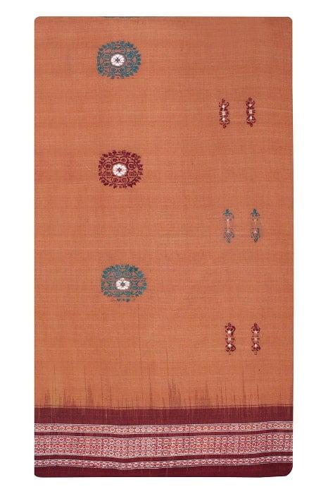 Bomkai Pure Cotton Saree Online 5