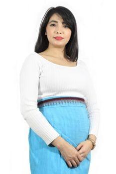 Moirang Phee Ethnic Long Skirt 1