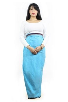Moirang Phee Ethnic Long Skirt 2
