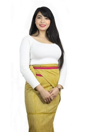 Moirang Phee Floor Length Skirt 1