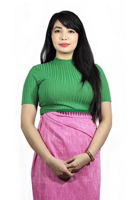 Moirang Phee Long Wrap Skirt 1