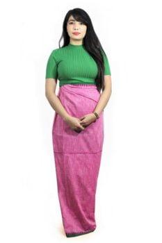 Moirang Phee Long Wrap Skirt 2