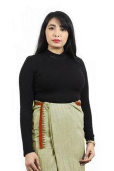 Moirang Phee Simple Long Skirt 1