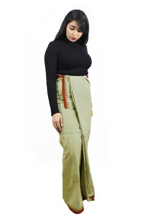 Moirang Phee Simple Long Skirt 2