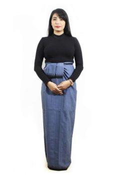 Moirang Phee high waisted long skirts 2