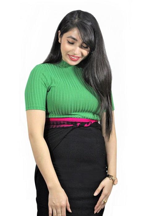 moirang phee black long skirt 1