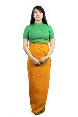moirang phee golden long skirt 2