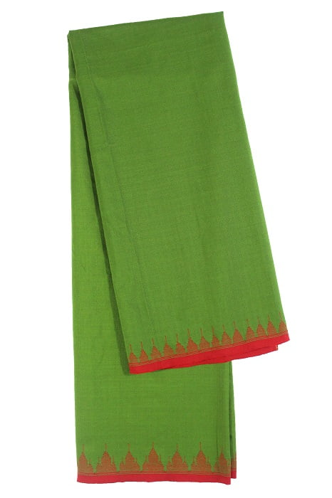 moirang phee green long skirt 4