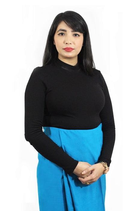 moirang phee long blue skirt 1