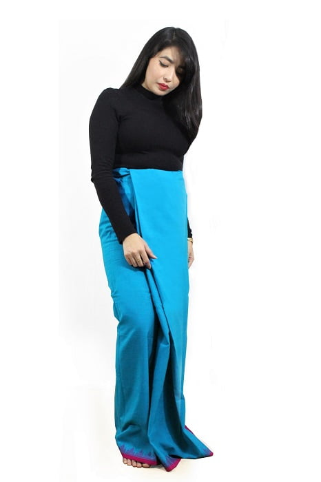 moirang phee long blue skirt 2