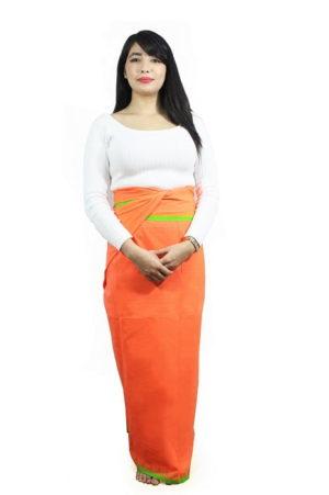 moirang phee orange long skirt 2
