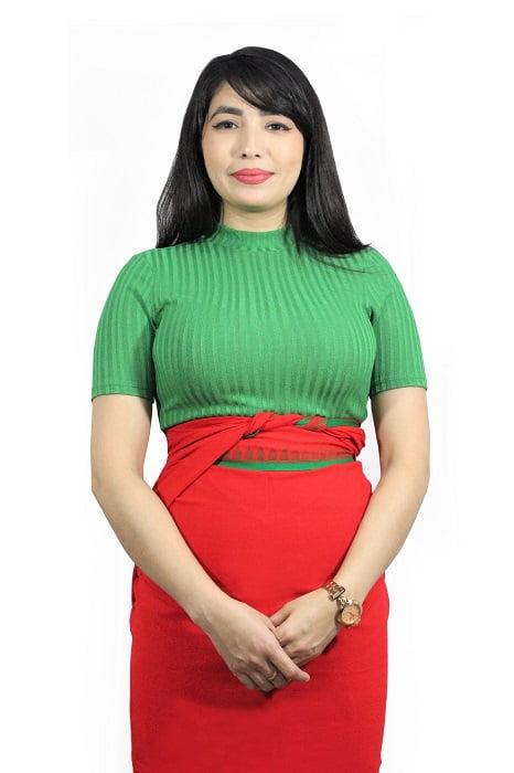 moirang phee red long skirt 1