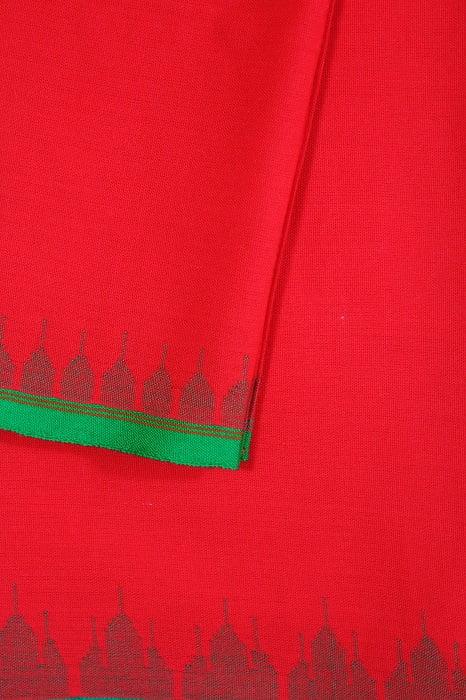 moirang phee red long skirt 3