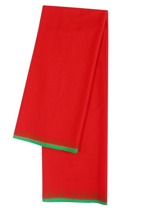 moirang phee red long skirt 4