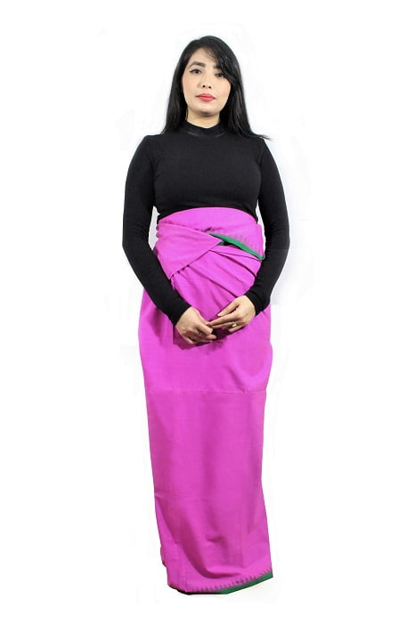moirang phee traditional long skirt 2