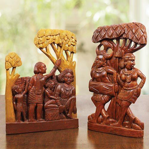 GiTAGGED Bastar-wooden Craft