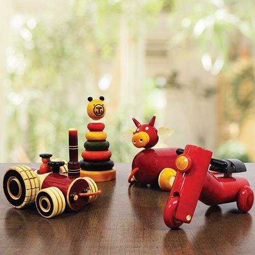 GiTAGGED Channapatna toys