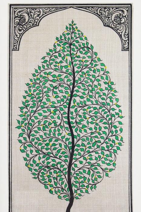 Tree of LIfe - Orissa Pattchitra (2)
