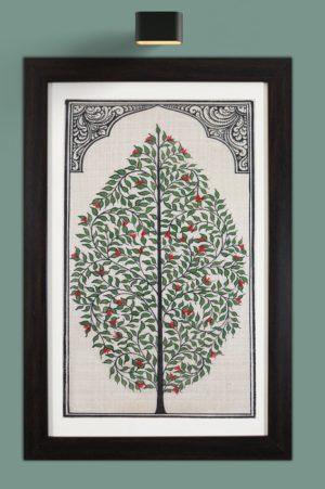Tree of Life Orissa Patta Paintings (1)