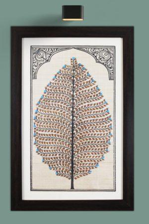 tree of life orissa pattachitra - Gi Tagged (1)