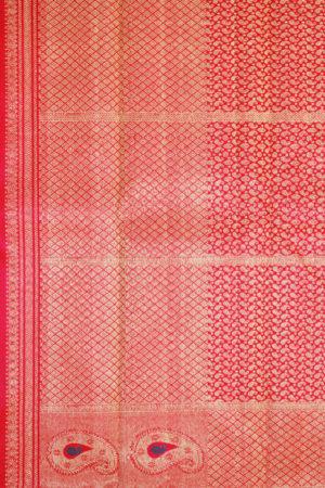 Kancheepuram Pure Silk Patli Pallu Saree (2)