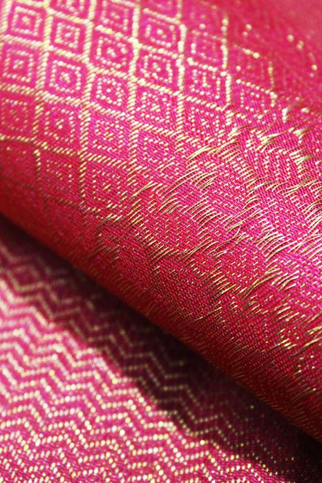 Kancheepuram Pure Silk Patli Pallu Saree (6)