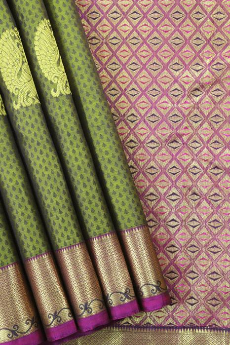Original Kancheepuram Pure Silk Saree (1)