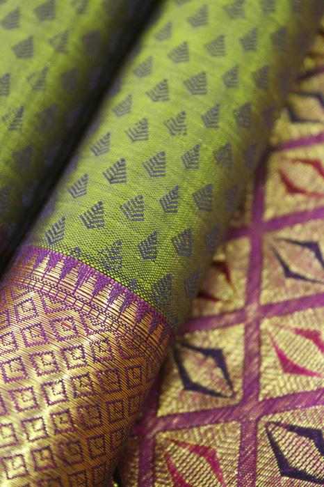 Original Kancheepuram Pure Silk Saree (4)