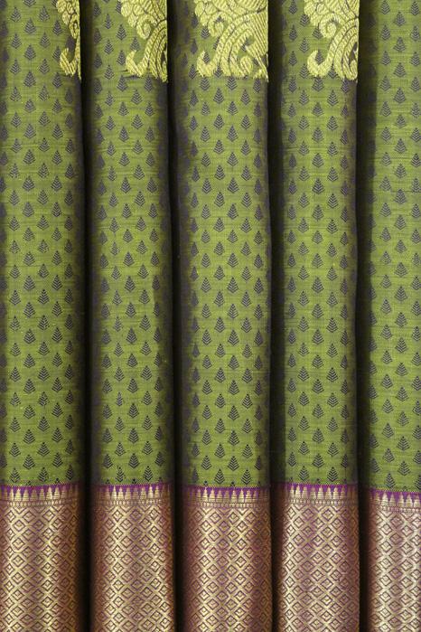 Original Kancheepuram Pure Silk Saree (5)