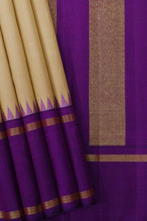 Pure Kancheepuram Silk Saree - Gi Tagged (1)