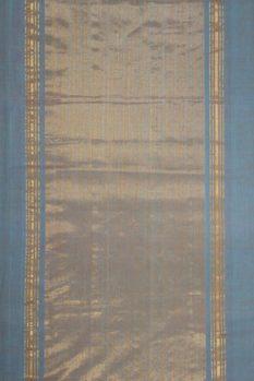 Mangalagiri Blue Cotton saree (2)