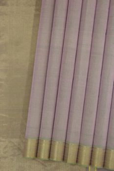 Mangalagiri Purple Pure Cotton Saree (1)
