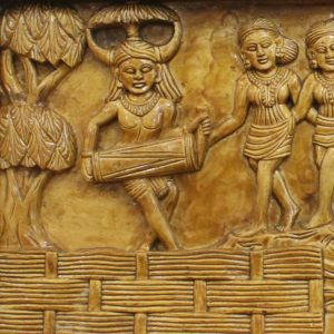 Bastar Ghotul Dancing Artwork 2