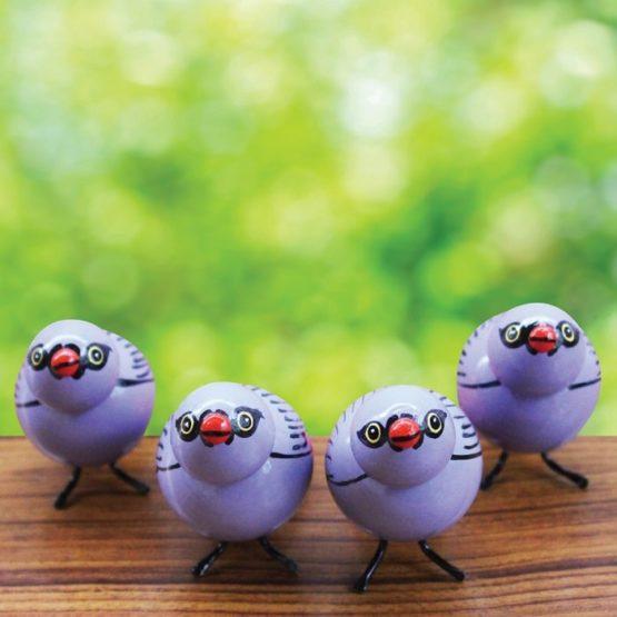 Blue Sparrow Showpiece (2)